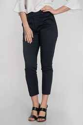 Pantalon 7/8 En Coton Stretch