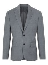 J.lindeberg Hopper Flannel Blazer Men Grey