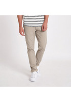 River Island Minimum - Pantalon Chino Slim Marron