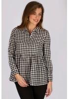 Chemise à Carreaux Noir Femme Taille 3 - Scottage