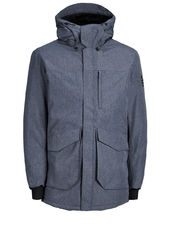 Jack & Jones Technique Parka Men Grey