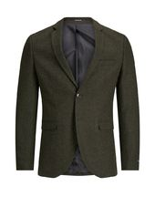 Jack & Jones Coupe Super Slim Blazer Men Green