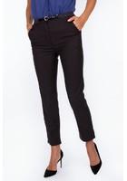 Pantalon à Pinces Noir Femme Taille 48 - Scottage
