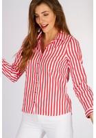Chemise Fil à Fil Rouge Femme Taille 7 - Scottage