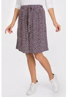 Jupe Imprimé Gomme Bleu Femme Taille 44 - Scottage