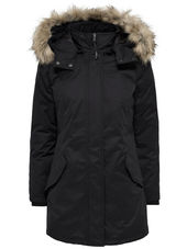 Only Avec Finitions Parka Women Black