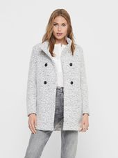 Only Laine Manteau Women White