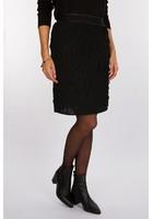 Jupe Brillante Noir Femme Taille 46 - Scottage