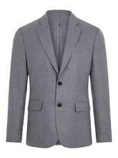 J.lindeberg Hopper Combat Wool Blazer Men Grey