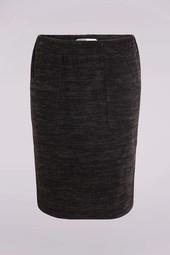 Jupe Doublée Noir Femme Taille 44 - Scottage