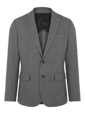 J.lindeberg Hopper Natte Stretch Blazer Men Grey