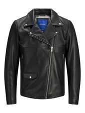 Jack & Jones Hyper Veste En Cuir Men Black