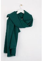 Echarpe Texturée Vert Femme Taille Tu - Scottage