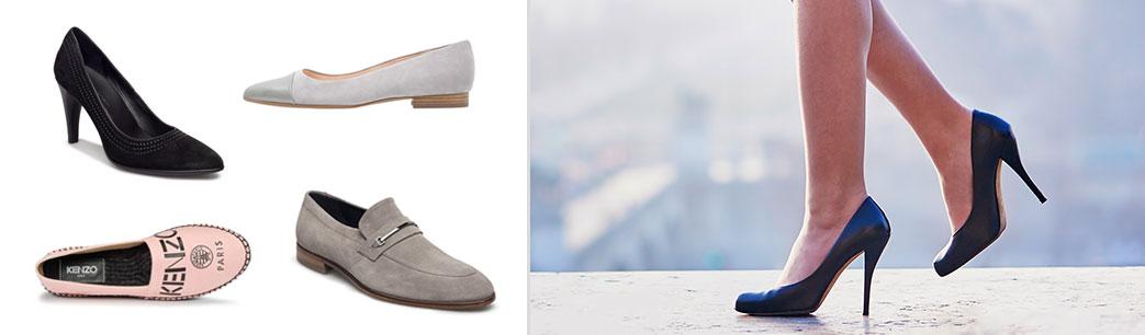 Des chaussures, escarpins, et moccassins.